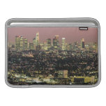 Los Angeles Cityscape at Night MacBook Air Sleeves