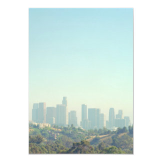 Los Angeles Cityscape Card