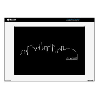 "Los Angeles cityscape Decal For 15"" Laptop"