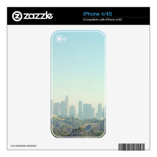 Los Angeles Cityscape iPhone 4 Decals