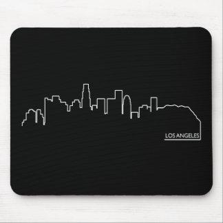 Los Angeles cityscape Mouse Pad
