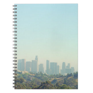 Los Angeles Cityscape Notebook