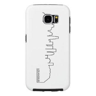 Los Angeles cityscape Samsung Galaxy S6 Case