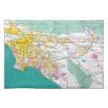Los Angeles Cloth Place Mat