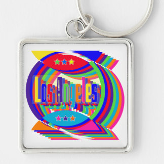 Los Angeles Color Combo 2 Keychain