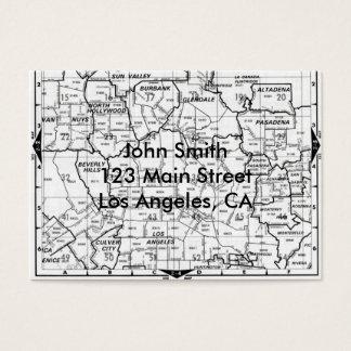 Los Angeles County Street Atlas Business Card