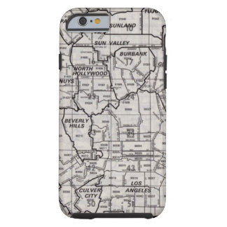 Los Angeles County Street Atlas Tough iPhone 6 Case