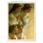 Los ángeles de Bouguereau - tarjeta