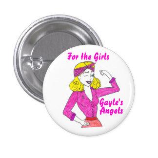 Los ángeles de Gayle - botón Pin Redondo De 1 Pulgada