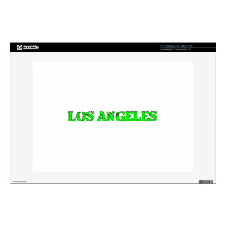 "Los Angeles Decals For 13"" Laptops"