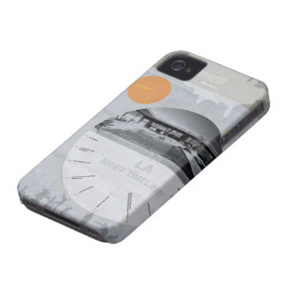 Los Angeles Design Poster iPhone 4 Case-Mate Case