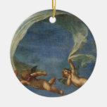 Los ángeles detallan de Adonis llevaron por los Cu Adorno De Navidad