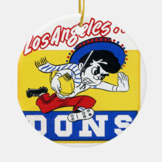 Los Angeles Dons (AAFC) Ceramic Ornament
