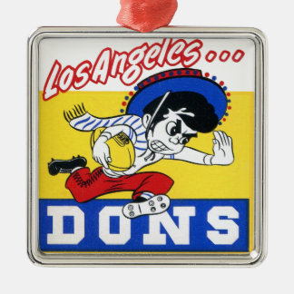 Los Angeles Dons (AAFC) Metal Ornament