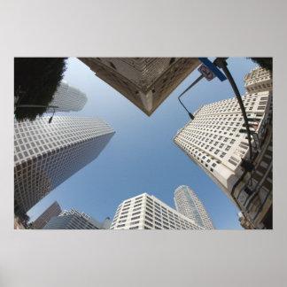 Los Angeles Downtown Skyline Print