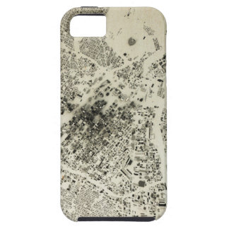Los Angeles Downtown Streets and Buildings Vintage iPhone SE/5/5s Case