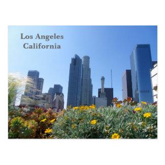 Los Angeles Downtown View Postcard! Postcard