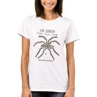 Los Angeles Edible Insect Society - Tarantula shirt