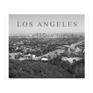 Los Ángeles en blanco y negro Postal