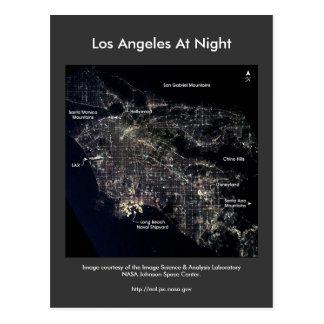 Los Ángeles en la noche Postales