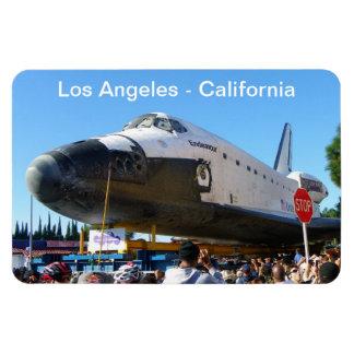 Los Angeles/Endeavour Premium Flexi Magnet! Rectangular Photo Magnet