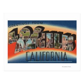 Los Ángeles, escenas 2 de la letra de Postal