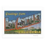 Los Ángeles, escenas de la letra de CaliforniaLarg Tarjetas Postales