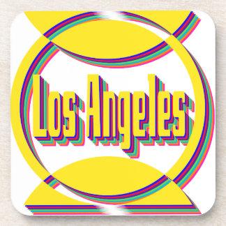 Los Ángeles fantástico 1 práctico de costa Posavasos De Bebidas