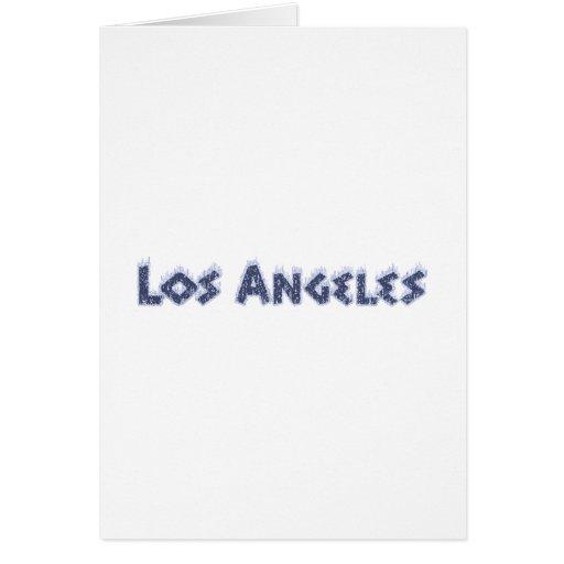 Los Ángeles Felicitacion