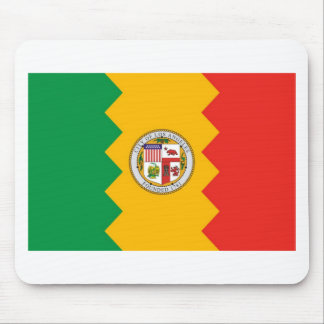 Los Angeles Flag Mouse Pad