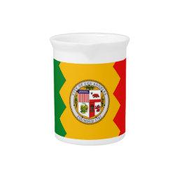 Los Angeles Flag Pitcher