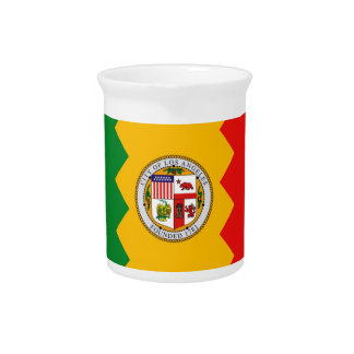 Los Angeles Flag Pitcher