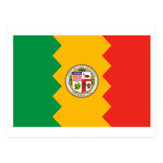 Los Angeles Flag Postcard