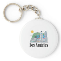 Los Angeles for Men Women and Kids Keychain
