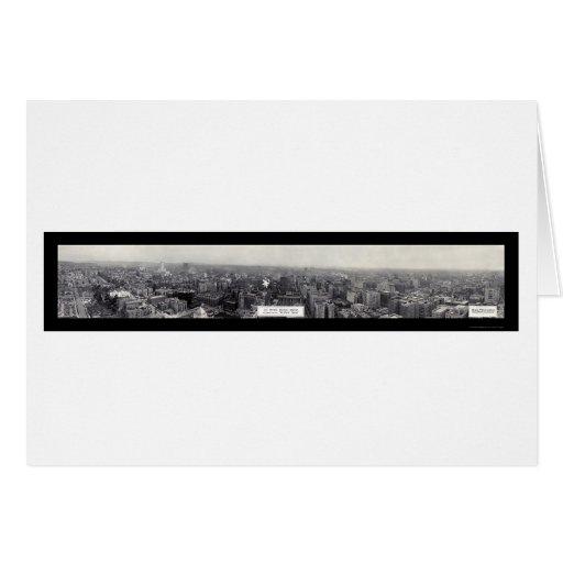 Los Ángeles, foto 1930 de CA Tarjeta De Felicitación