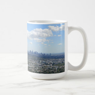 Los Angeles from Griffith Park Observatory Classic White Coffee Mug