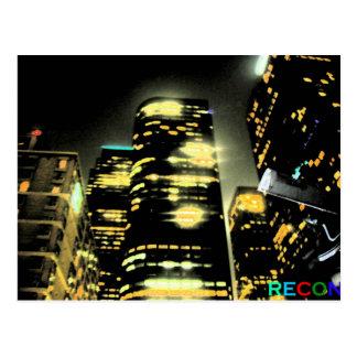 Los Angeles Glow Post Card
