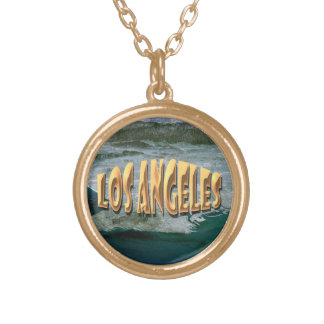 Los Angeles Gold Plated Necklace