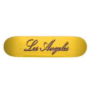 Los Angeles Gold Standard Skateboard