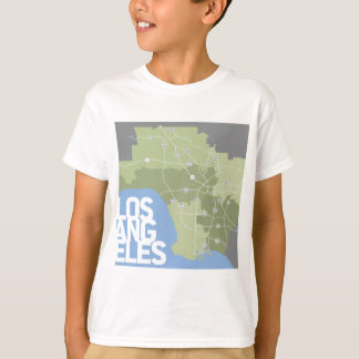 Los Angeles graphic map T-Shirt