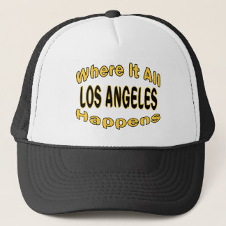 Los Angeles Happens Trucker Hat