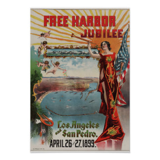 Los Angeles Harbor Poster