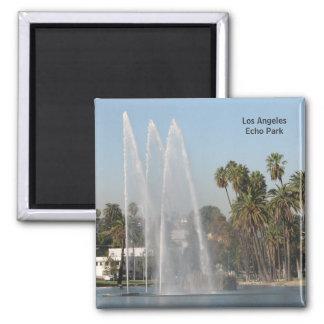 ¡Los Ángeles - imán del parque del eco!