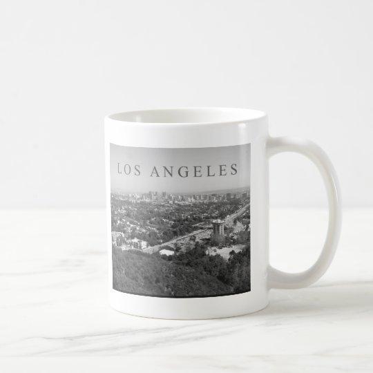 Los Angeles in Black and White Coffee Mug