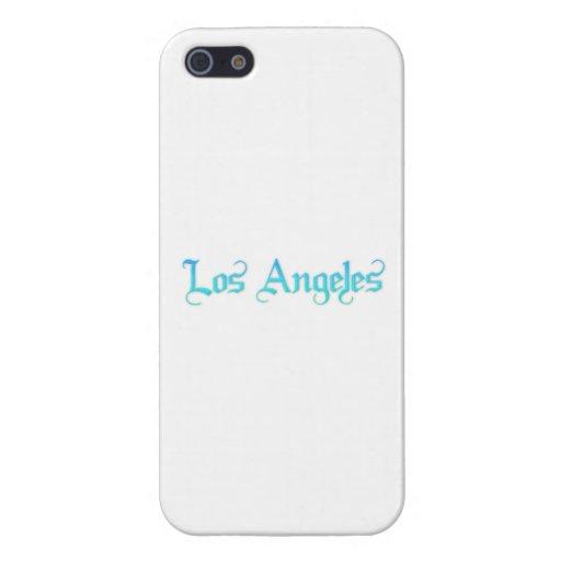 Los Ángeles iPhone 5 Funda