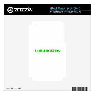 Los Ángeles iPod Touch 4G Calcomanía