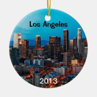 Los Angeles Keepsake Christmas Ornaments