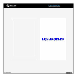 Los Angeles Kindle Fire Decal