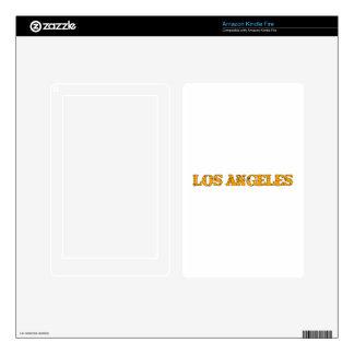 Los Angeles Kindle Fire Skins