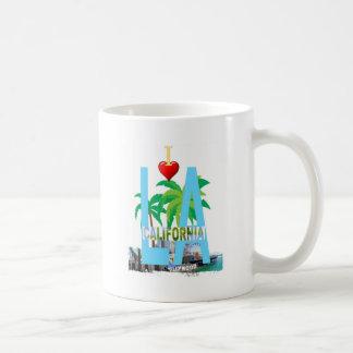 los angeles  l a california city usa america coffee mug